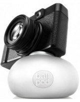 Support pour appareil photo compact BallPod blanc