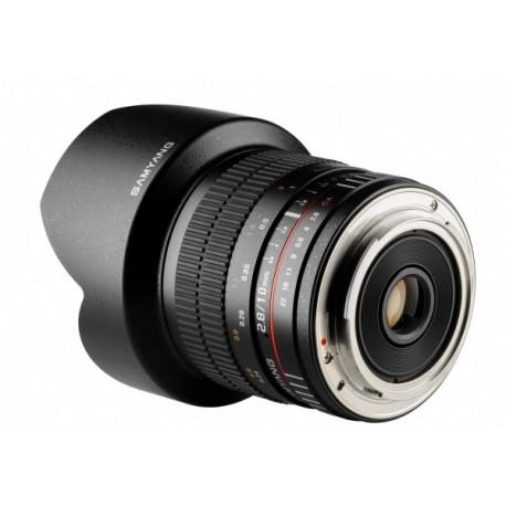 Objectif Samyang 10mm F2.8 pour reflex Nikon APS-C ref SAM10NIKON_AE