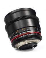 Optique cine Samyang 85mm T1.5 VDSLR Monture Canon