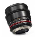 Optique cine Samyang 85mm T1.5 VDSLR Monture Nikon Ref SAM85T15NIKON