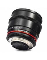 Optique cine Samyang 85mm T1.5 VDSLR Monture Nikon