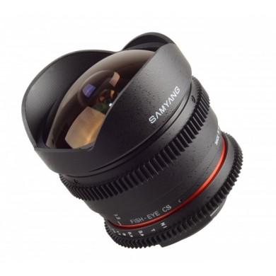 Objectif Fisheye Samyang 8mm T3,8 CS Nikon