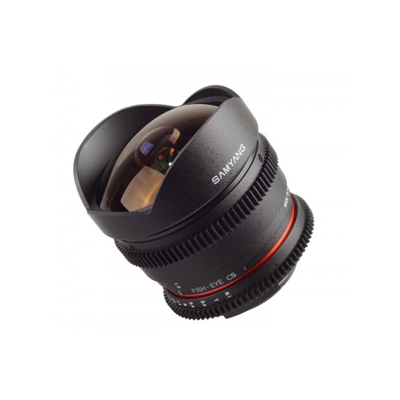 Objectif fisheye samyang 8mm t3 8 cs nikon for Objectif a miroir pour nikon