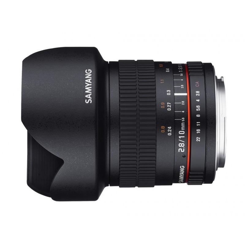 Objectif samyang 10mm f2 8 pour reflex nikon aps c ref for Objectif a miroir pour nikon