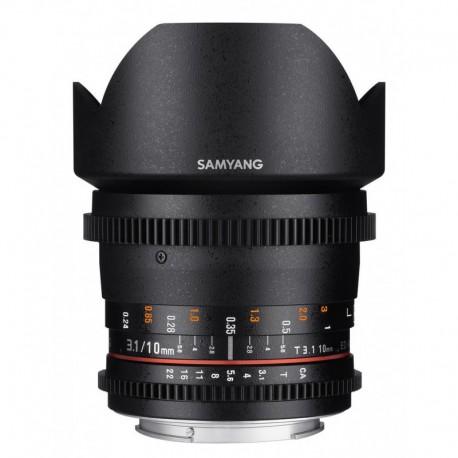 Samyang 10mm T3.1 VDSLR II Sony E