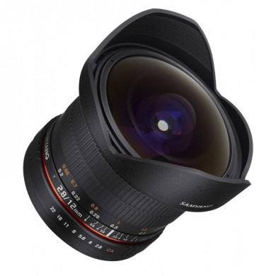 Samyang 12mm F2.8 Fisheye ED AS NCS Nikon AE