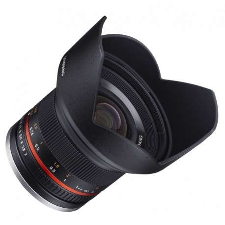 Objectif ultra grand angle Samyang 12mm F2 NCS pour Fuji X