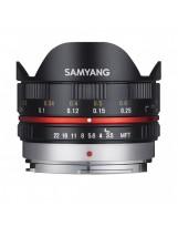 Objectif fisheye Micro Quatre Tiers Samyang 7,5mm F3,5 (SAM75M43N/8809298882907)