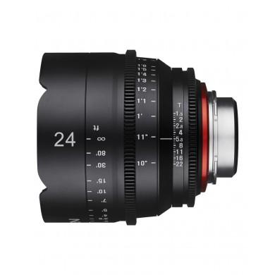 Samyang Xeen 24mm T1.5 Canon EF / Echelle en mètres