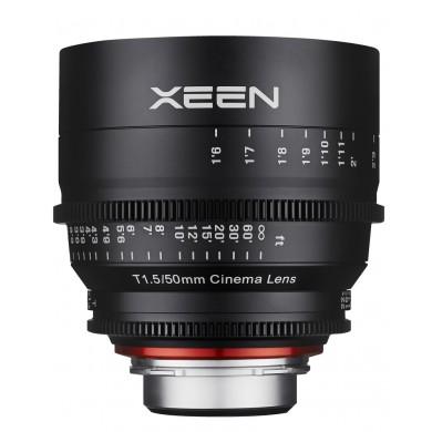 Samyang Xeen 50mm T1.5 Canon EF / Echelle en Pieds