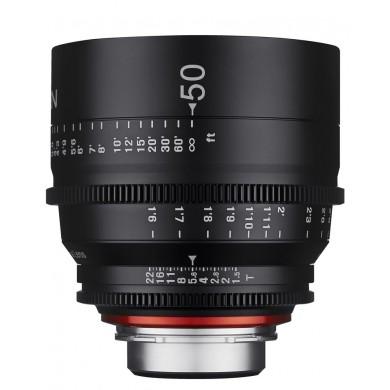 Samyang Xeen 50mm T1.5 Sony E / Echelle en Pieds
