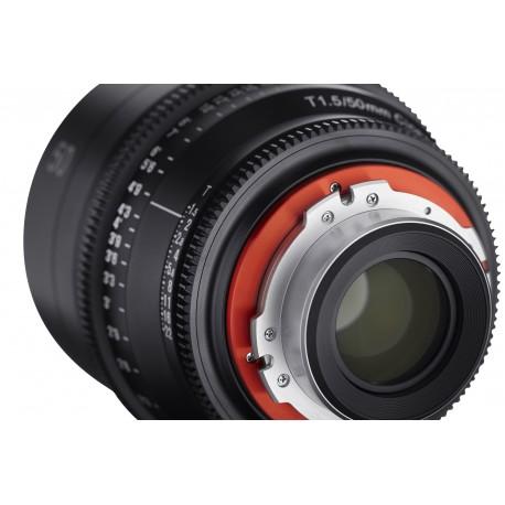Samyang Xeen 50mm T1.5 Canon EF Echelle en mètres