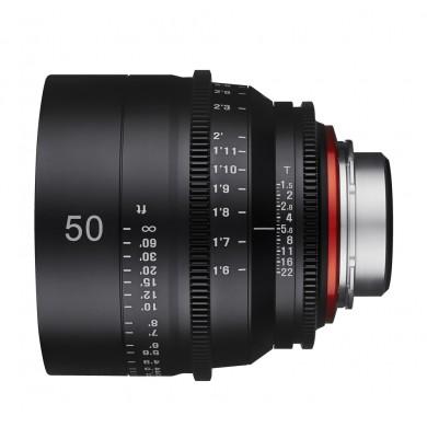 Samyang Xeen 50mm T1.5 Sony E / Echelle en mètres