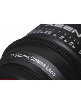 Samyang Xeen 85mm T1.5 Sony E / Echelle en mètres
