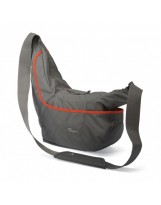 Sac d'épaule Lowepro Passport Sling III Gris Orange