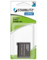 Batterie compatible GoPro AHDBT-401 Batterie rechargeable Lithium-ion
