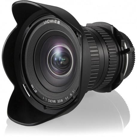 Objectif Laowa 15mm f/4 Grand Angle Macro Canon