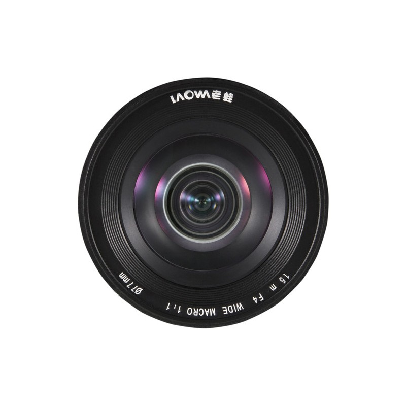 objectif laowa 15mm f 4 grand angle macro canon. Black Bedroom Furniture Sets. Home Design Ideas