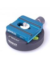 Platine Q standard Novoflex avec vis 1/4''