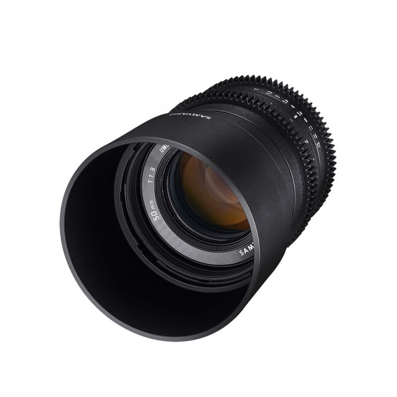 Sam50t13sonye objectif samyang 50mm t1 3 cine sony e for Objectif miroir 50mm