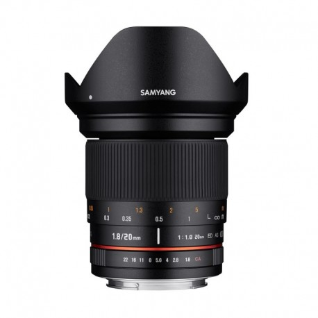 Samyang 20mm F1,8 ED AS UMC Sony FE