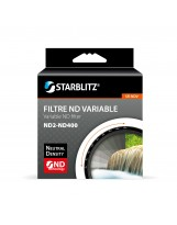 Filtre 82 mm à Densité Neutre Variable ND2 à ND400 Starblitz
