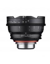 Objectif vidéo Xeen 14 mm T3.1 Canon EF - Echelle en mètres