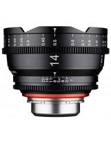 Objectif vidéo Xeen 14 mm T3.1 Sony FE - Echelle en mètres