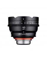 Optique vidéo Xeen 16 mm T2.6 Sony E - Échelle en PIED