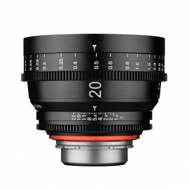 Optique vidéo Xeen 20mm T1.9 Sony E - Échelle en METRE