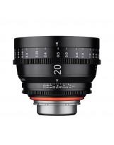 Optique vidéo Xeen 20mm T1.9 Arri PL - Échelle en METRE