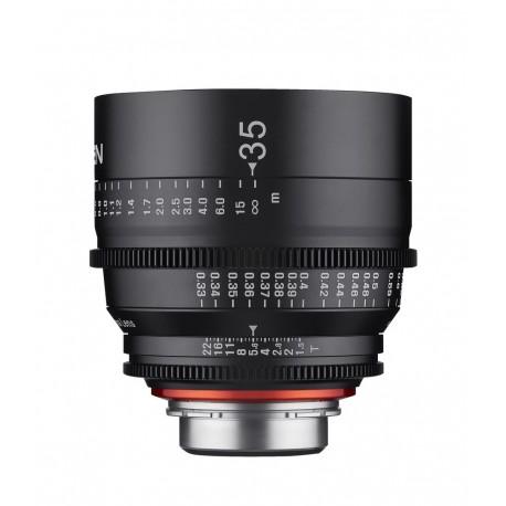 Objectif vidéo Xeen 35mm T1.5 Sony FE - Échelle en PIED