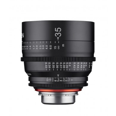 Objectif vidéo Xeen 35mm T1.5 Canon EF - Échelle en mètres