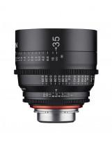 Objectif vidéo Xeen 35 mm T1.5