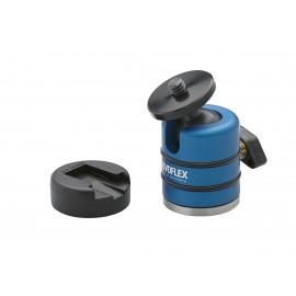 Petite rotule pour boitier + griffe porte flash Novoflex