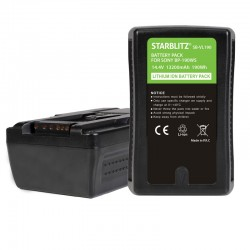 Batterie Starblitz compatible V-Mount Sony BP-190W