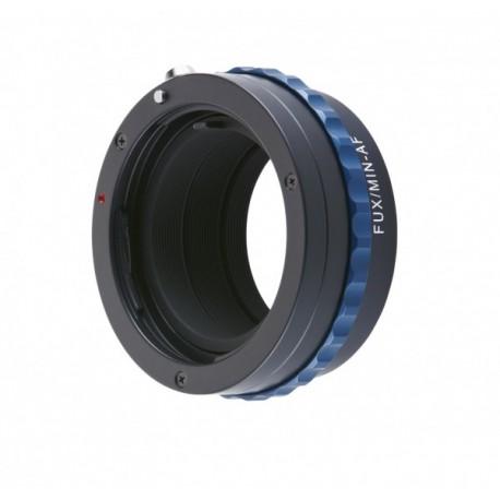 Bague Novoflex Fuji X pour objectifs Sony-Minolta AF Ref FUX-MIN-AF