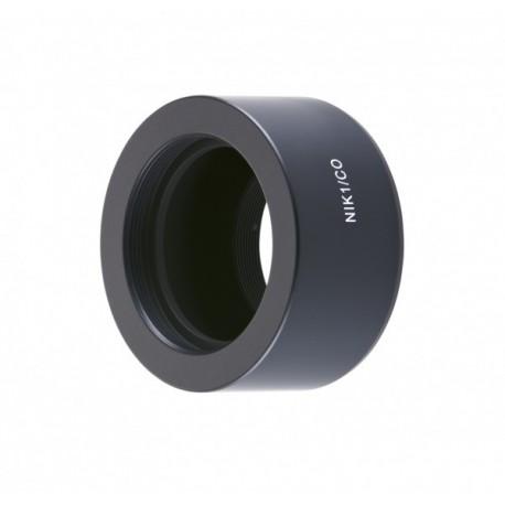 Bague Novoflex Nikon 1 pour optique M42 Ref NIK1-CO