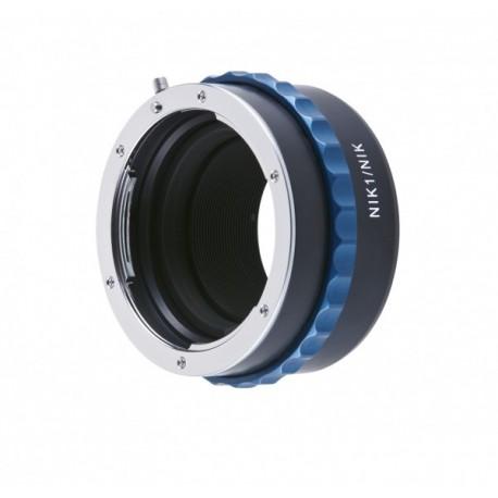 Bague Novoflex Nikon 1 pour objectifs Nikon F