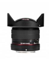 Objectif Fish-eye Samyang 8mm F3.5 CS II Alpha