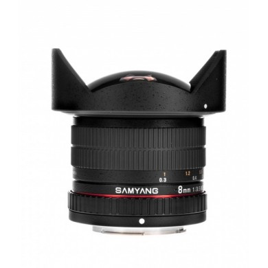Objectif Fish-eye Samyang 8mm F3.5 CS II Alpha