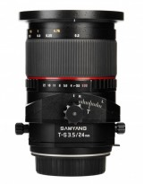 Samyang 24mm F3.5 TS Sony Alpha Objectif Décentrement Bascule