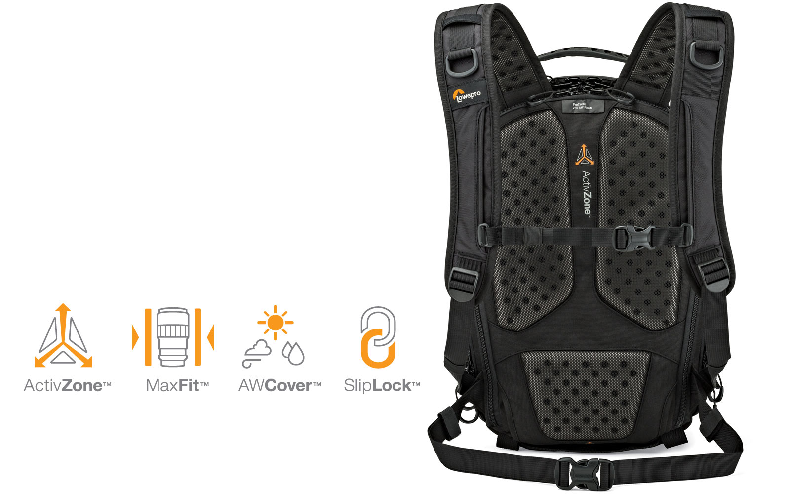 ProTactic Backpack technology