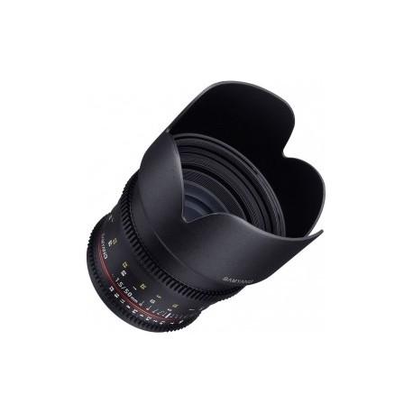 Samyang 50mm T1.5 VDSLR compatible avec Nikon F
