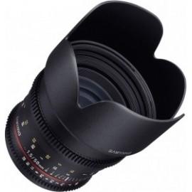 Samyang 50mm T1.5 VDSLR compatible avec Canon EF