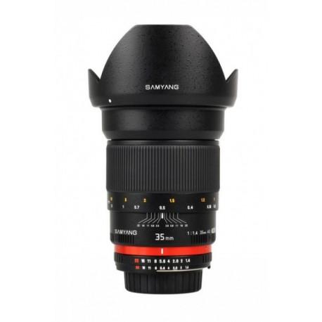 Samyang AE 35mm f1.4 compatible avec Nikon F