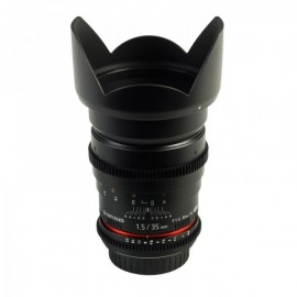 Optique vidéo Samyang 35mm T1.5 pour boîtiers Canon (reflex EOS ou caméras C)
