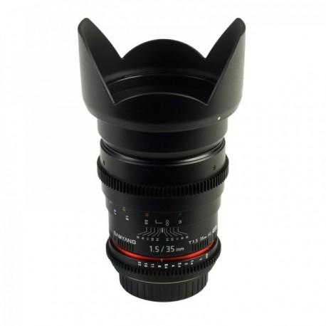 Samyang 35mm T1,5 VDSLR Nikon