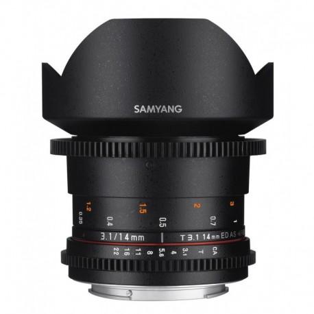 Samyang 14mm T3.1 VDSLR II compatible M43