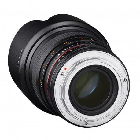 Samyang 50mm F1.4 compatible avec Sony E